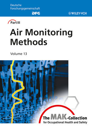 Air Monitoring Methods, Volume 13