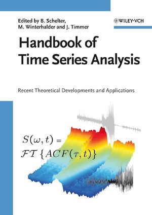 Handbook of Time Series Analysis (3527609512) cover image