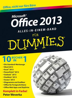 Office 2013 für Dummies Alles in einem Band
