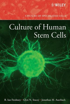 Culture of Human Stem Cells (0470167513) cover image