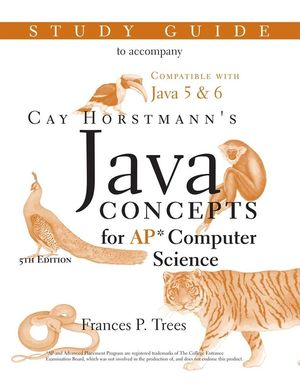 Java Concepts: Advanced Placement Computer Science Study Guide, 5th Edition (0470181613) cover image