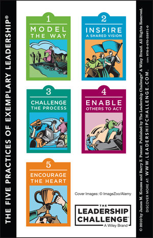 The Leadership Challenge Card, Side A: The Ten Commitments of Leadership, Side B: The Five Practices of Exemplary Leadership, 4th Edition
