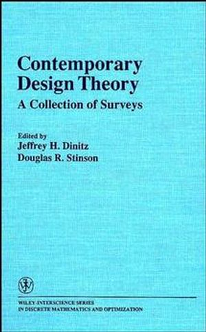 Contemporary Design Theory: A Collection of Surveys (0471531413) cover image