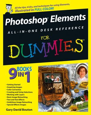 Photoshop Elements All-in-One Desk Reference For Dummies (0471778613) cover image