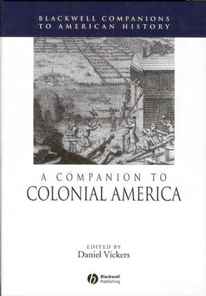 A Companion to Colonial America (0631210113) cover image