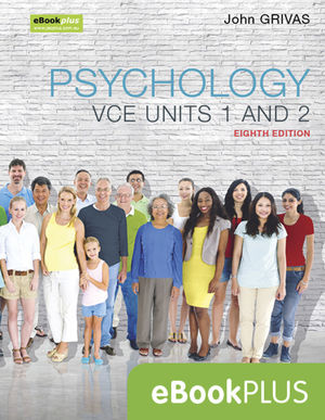 Psychology VCE Units 1 and 2 8e eBookPLUS (Online Purchase)