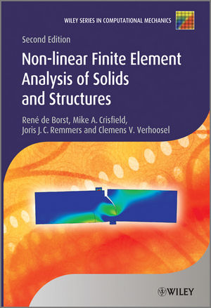 Nonlinear Finite Element Analysis of Solids and Structures, 2nd Edition (1118376013) cover image