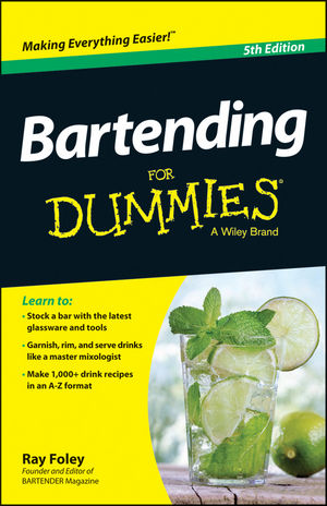 Bartending For Dummies, 5th Edition (1118807413) cover image