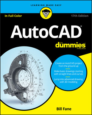 AutoCAD For Dummies, 17th Edition (1119255813) cover image