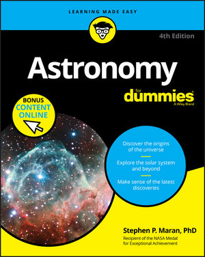 Astronomy For Dummies, 4th Edition (1119374413) cover image
