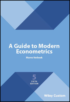 A Guide to Modern Econometrics, 5th Edition (1119472113) cover image