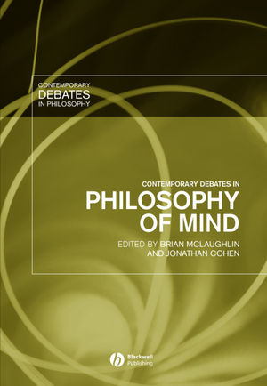 Contemporary Debates in Philosophy of Mind (1405117613) cover image