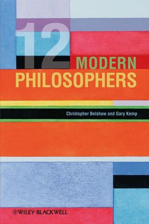 12 Modern Philosophers (1405152613) cover image