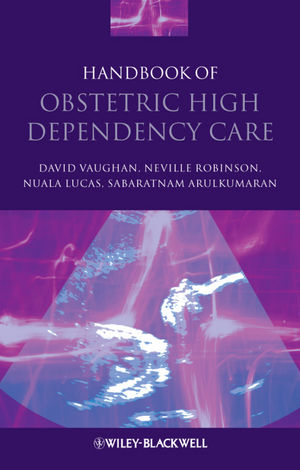 Handbook of Obstetric High Dependency Care (1405178213) cover image