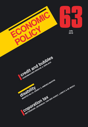 Economic Policy 63 (1405197013) cover image