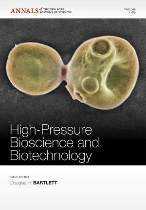 High-Pressure Bioscience and Biotechnology, Volume 1189