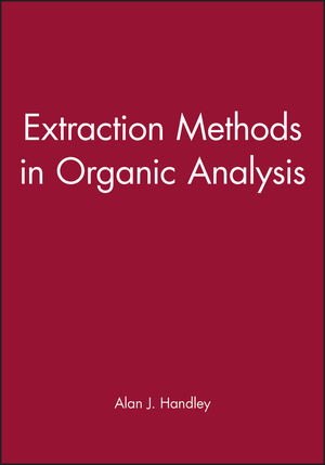 Extraction Methods in Organic Analysis