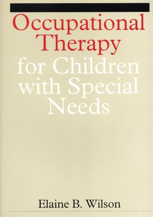 Occupational Therapy for Children with Special Needs (1861560613) cover image