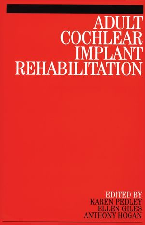 Adult Cochlear Implant Rehabilitation (1861563213) cover image