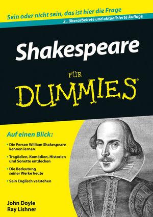 Shakespeare für Dummies, 3. Auflage (3527800913) cover image