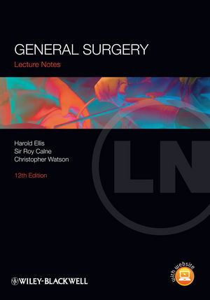 Lecture Notes: General Surgery, 12th Edition (EHEP002713) cover image