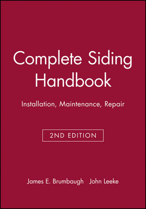Complete Siding Handbook: Installation, Maintenance, Repair, 2nd Edition (0025178814) cover image