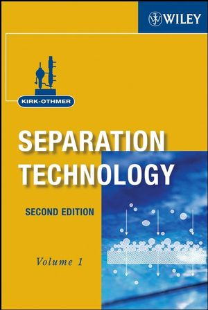 Kirk-Othmer Separation Technology, 2 Volume Set, 2nd Edition (0470127414) cover image