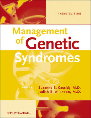 Management of Genetic Syndromes, 3rd Edition (0470191414) cover image