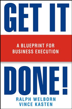 Get it done a blueprint for business execution strategic a blueprint for business execution malvernweather Gallery