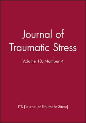 Journal of Traumatic Stress, Volume 18, Number 4