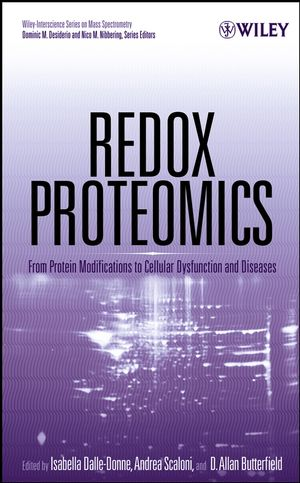 Redox Proteomics: From Protein Modifications to Cellular Dysfunction and Diseases (0471973114) cover image
