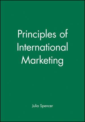 Principles of International Marketing