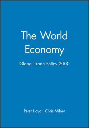 The World Economy, Global Trade Policy 2000 (0631224114) cover image