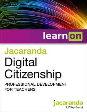 Jacaranda Digital Citizenship Professional Development for Teachers - Individual