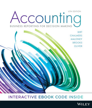 Accounting: Business Reporting for Decision Making, 6th Edition