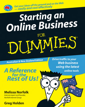 Starting an Online Business For Dummies, Australian & New Zealand Edition (0731409914) cover image