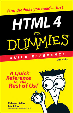 HTML 4 For Dummies<sup>&#174;</sup>: Quick Reference, 2nd Edition