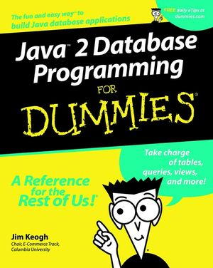 Java 2 Database Programming For Dummies (0764508814) cover image