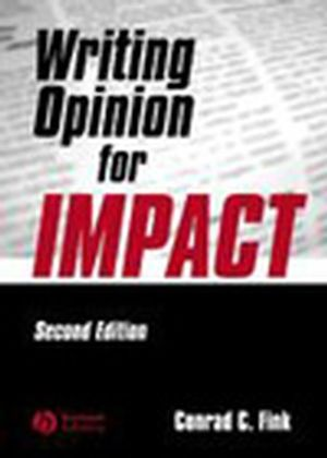 Writing Opinion for Impact, 2nd Edition (0813807514) cover image