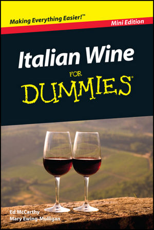Italian Wine For Dummies, Mini Edition