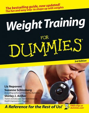 Weight Training For Dummies, 3rd Edition (1118052714) cover image