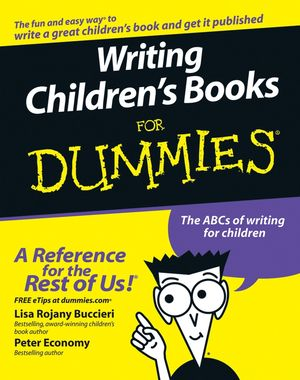 Writing Children's Books For Dummies (1118053214) cover image