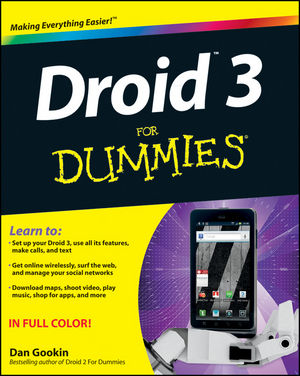 Droid 3 For Dummies (1118157214) cover image