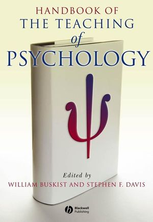 Handbook of the Teaching of Psychology (1118546814) cover image