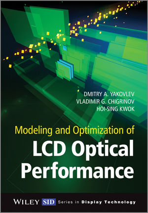 Modeling and Optimization of LCD Optical Performance (1118706714) cover image