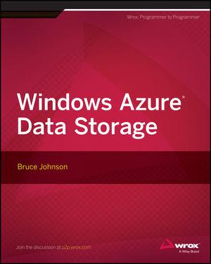 Windows Azure Data Storage (1118708814) cover image