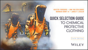 Quick Selection Guide to Chemical Protective Clothing, 6th Edition (1118855914) cover image