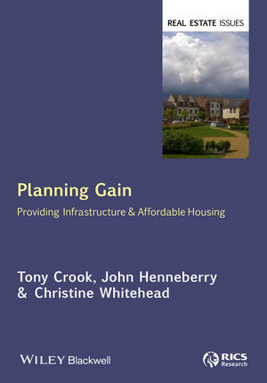 Planning Gain: Providing Infrastructure and Affordable Housing (1119075114) cover image