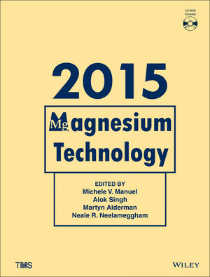 Magnesium Technology 2015 (1119093414) cover image