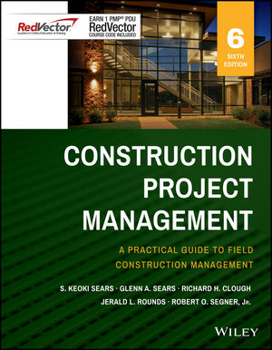 Construction Project Management Sixth Edition Red Vector bundle